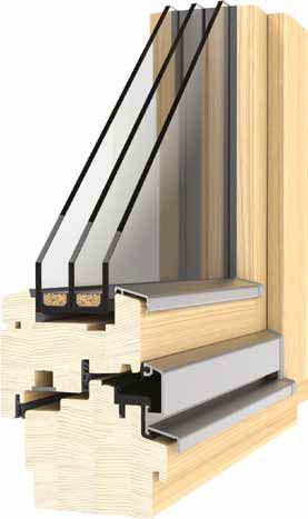 Dřevěná okna 92