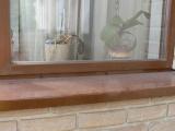 Dřevěné okno bez okapnic